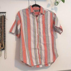 🦚 Vintage striped shirt